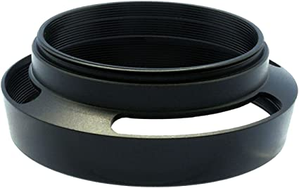 Gadget Place Black Vented Metal Lens Hood with Cap for Leica APO-Telyt-M 135mm f//3.4 ASPH