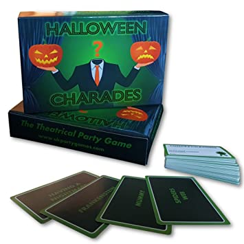 halloween party game halloween charades theatrical