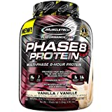 Best Protein Powder For Muscles - MuscleTech phase 8 protein powder, vanilla, 5 pound Review