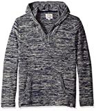 Lucky Brand Men's Baja Hoodie, Blue/Multi, Medium