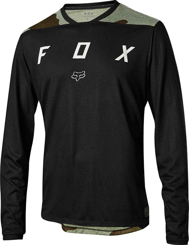 Fox Indicator Mash Camo Bike Jersey Longsleeve Men green/black 2018 Long Sleeve Cycling Jersey 2018 Indicator Mash Camo