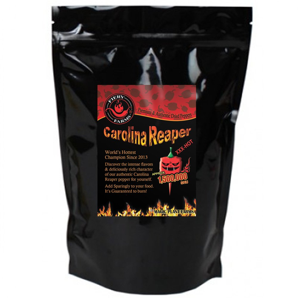 Carolina Reaper Pepper Powder | Extremely Hot Ground Carolina Reaper Peppers (2oz)
