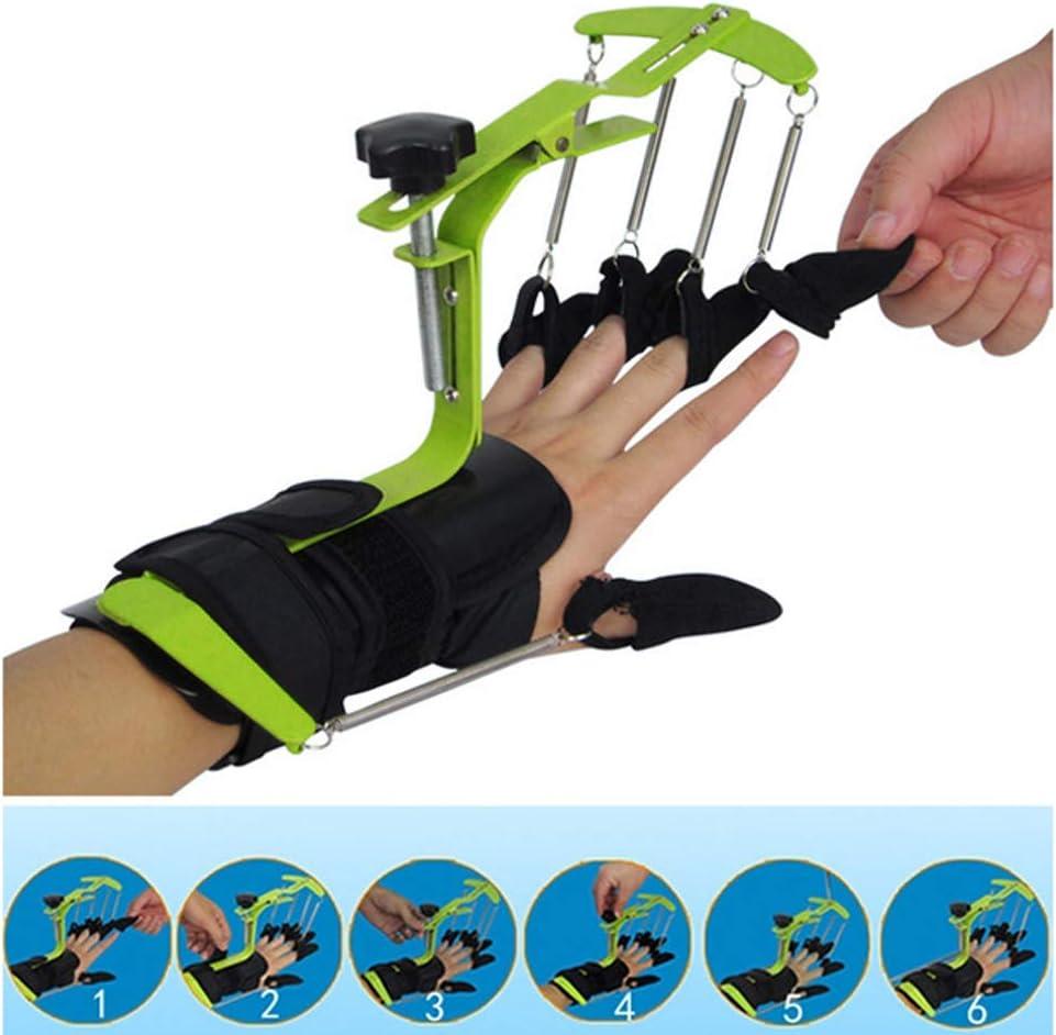 JM-D Órtesis dinámica para los Dedos, ejercitador de Agarre con los Dedos Ajustable para infarto Cerebral hemorragia Cerebral hemipléjico Movimiento de Dedo Equipo de Entrenamiento de rehabilitación