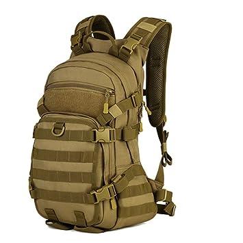 Selighting Mochila Militar, Mochila Militar Táctica 25L de Asalto con MOLLE Sistema Gran Bolso de Hombro Hombre Impermeable para Viajar Camping Caza ...