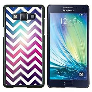 GIFT CHOICE / Teléfono Estuche protector Duro Cáscara Funda Cubierta Caso / Hard Case for Samsung Galaxy A5 A5000 // White Universe Purple Pink //