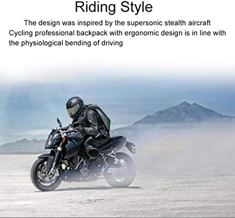 jannyshop 30L Moto Sac /À Dos /Étanche Coquille Dur Sac /À Dos en Fiber De Carbone Moto Casque Sac /À Dos Sac D/équitation /Étanche pour Voyager