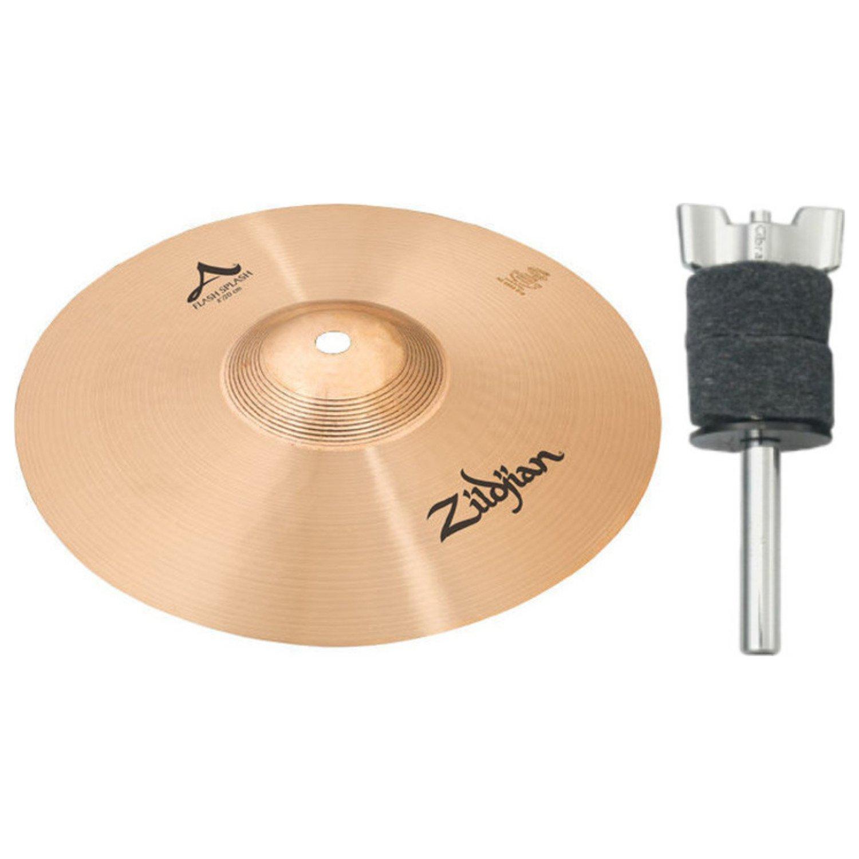 Zildjian 8'' A Flash Splash w/ 4'' Stacker by Avedis Zildjian Company