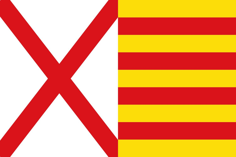 MagFlags Bandera XL Hospitalet de Llobregat, Barcelona, España     bandera paisaje   2.16msup2;   120x180cm 9bcefb