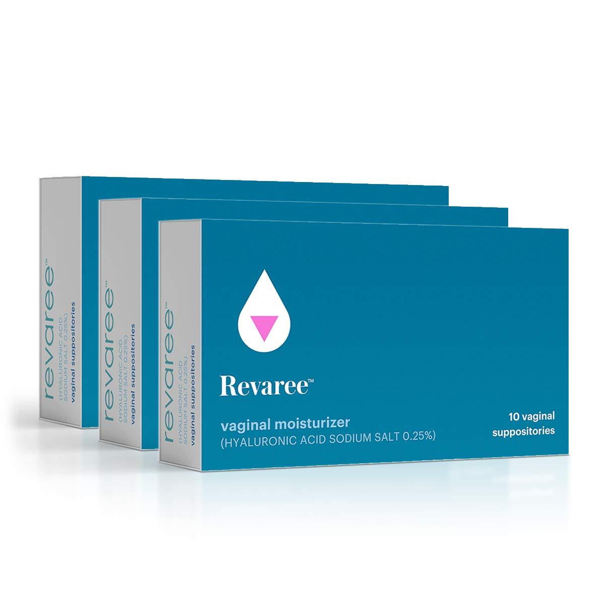 Bonafide - Revaree Hyaluronic Acid for Vaginal Dryness - Non-Hormonal, Paraben-Free (30 Vaginal Inserts) by Bonafide
