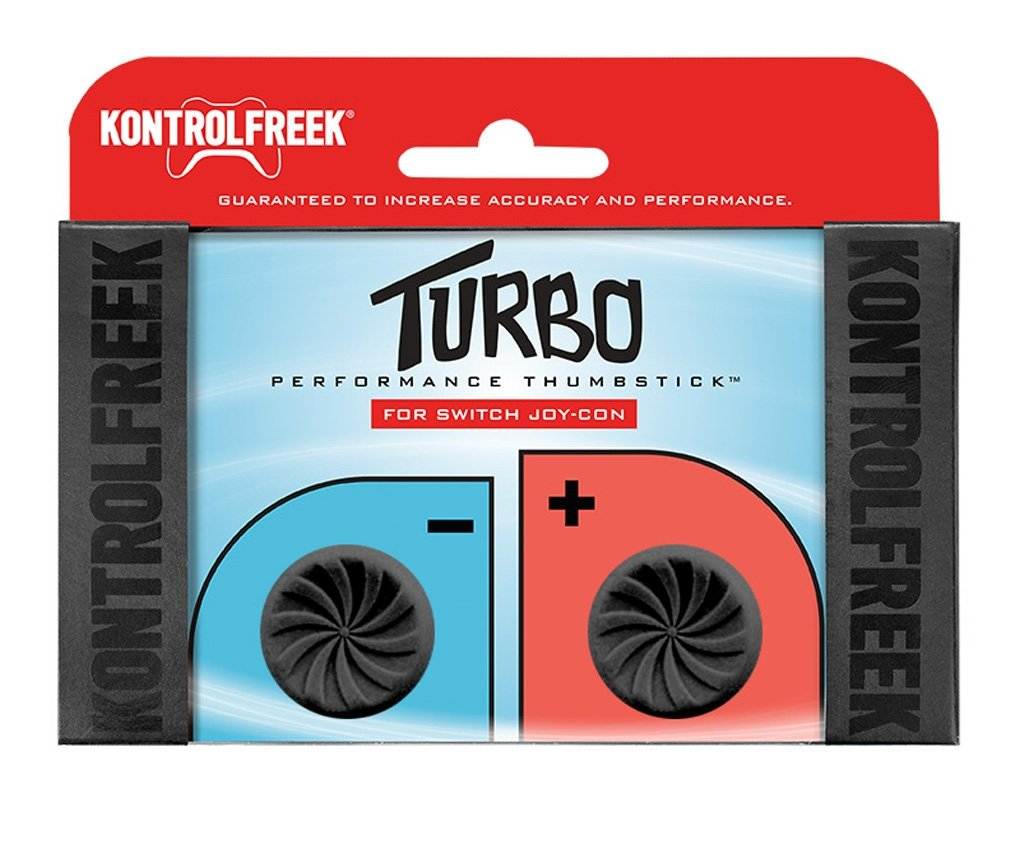 Kontrolfreek Turbo Thumb Grips For Nintendo Switch Joy-con.