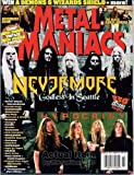 Metal Maniacs Magazine NEVERMORE David W...