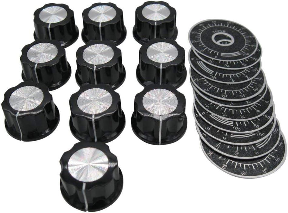 1 Stücke Lautstärkeregler Einstellbar Potentiometer Knopfschalter ls