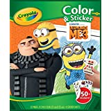 Crayola Despicable Me 3 Color & Sticker Book, Gift for Kids, Age 3, 4, 5, 6 Styles may vary