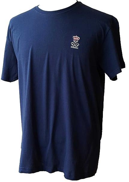 dicep Camiseta Lisa Azul Marino Patrón de Navegación Básica (PNB): Amazon.es: Ropa y accesorios