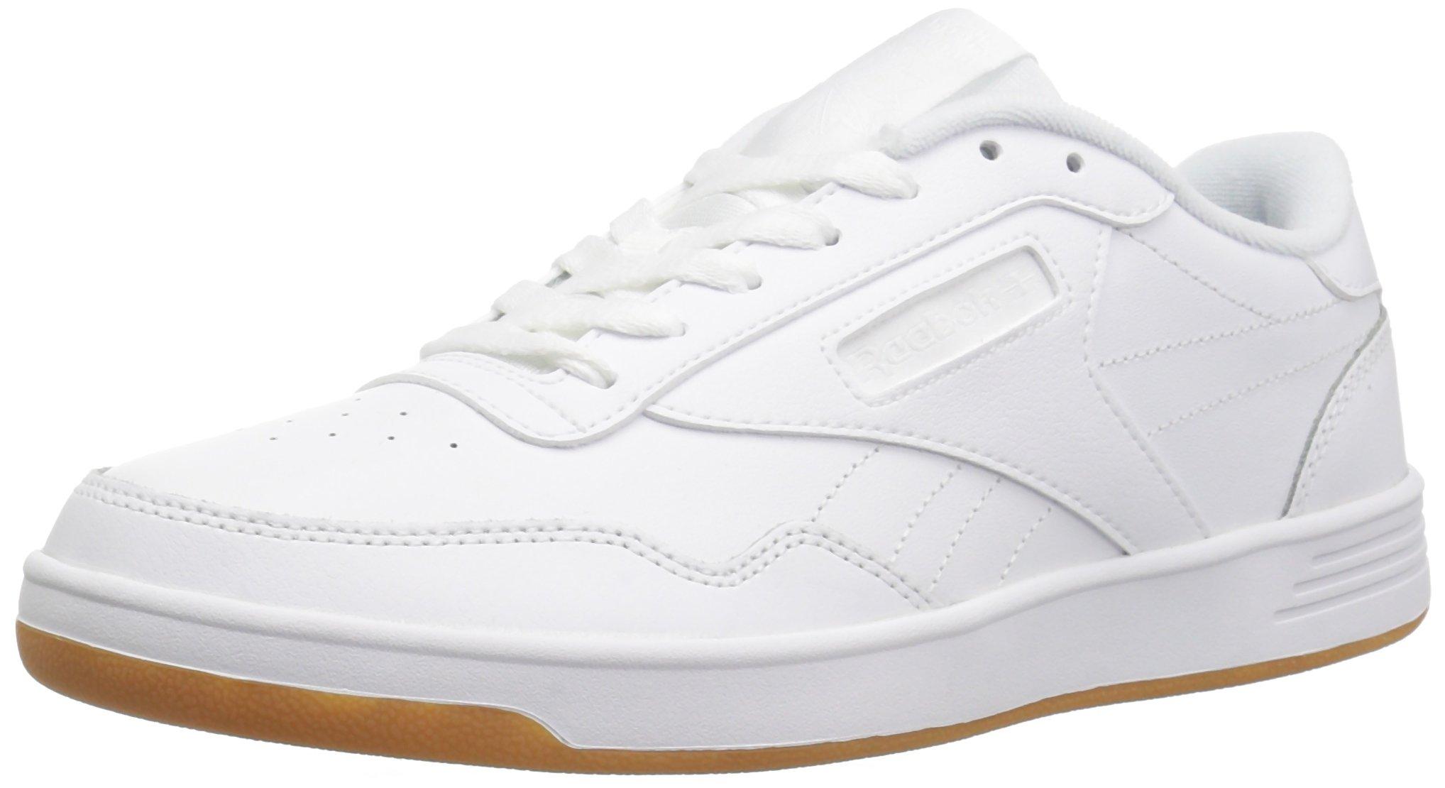 Reebok Women's Club MEMT Track Shoe,White/Gum,7 M US