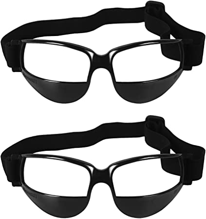 Sports Basketball Dribble Goggles Specs UCEC Basketball Goggles 2 Pack Sports Goggles Sports Dribble Specs Basketball Training Aid
