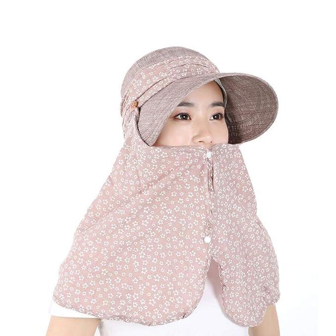 Sombreros Sombrero para El Sol con Cuello Estuche Protector Verano ...