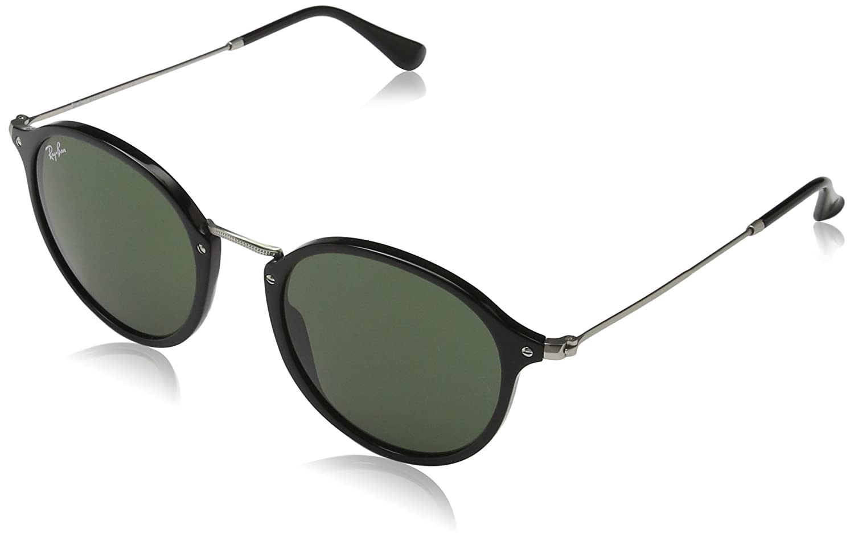 Amazon.com: Ray-Ban Men\'s 0RB2447 Round Sunglasses: Clothing