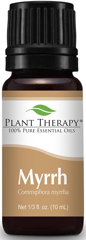 Plant Therapy Myrrh Essential Oil 10 mL (1/3 oz) 100% Pure, Undiluted, Therapeutic Grade Plant Therapy Essential Oils