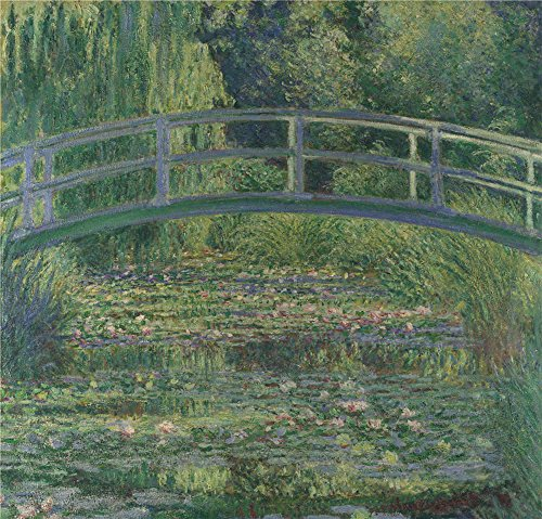 ('Claude Oscar Monet The Water Lily Pond ' Oil Painting, 30 X 31 Inch / 76 X 80 Cm ,printed On High Quality Polyster Canvas ,this High Definition Art Decorative Prints On Canvas Is Perfectly Suitalbe For Dining Room Decor And Home Gallery Art And Gifts)