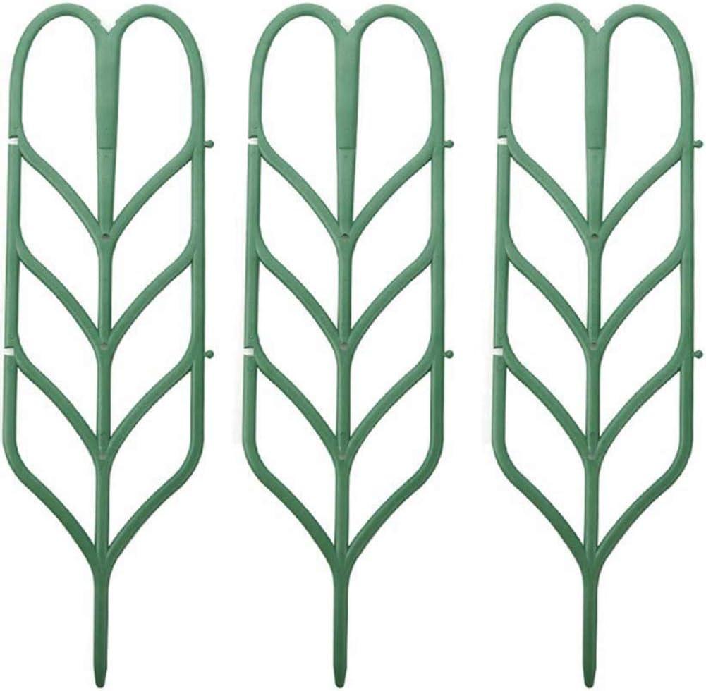 WINGOFFLY DIY Garden Plant Pot Mini Climbing Trellis Plant Support(3 Pack)