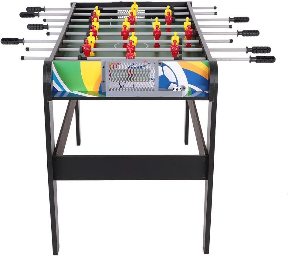 Lixada - Futbolín de tamaño de competición (122 cm). Juego de ...