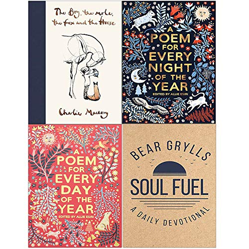Book cover from The Boy The Mole The Fox and The Horse, A Poem for Every Night of the Year, A Poem for Every Day of the Year, Soul Fuel A Daily Devotional 4 Books Collection Set by Charlie Mackesy