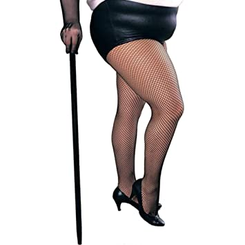 6dfccddc0 Sexy Black Fishnet Tights Stockings Plus Size Xl-Xxl  Rubies  Amazon ...