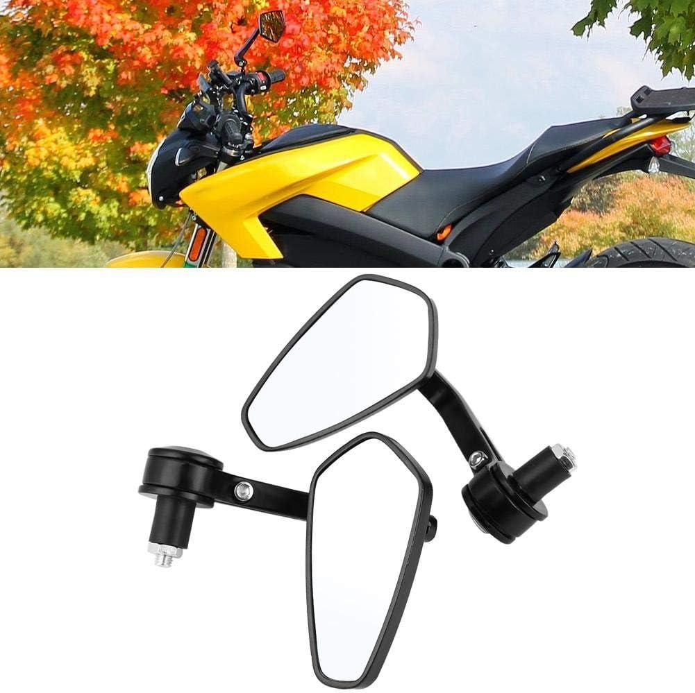 R/ückspiegel 2 St/ück Universal Motorrad Seitenspiegel 7//8 Zoll Motorrad Lenker Aluminium R/ückspiegel
