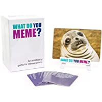 Smart Picks What Do U Meme Card Game for Adults