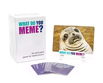 What Do You Meme Card Game For Adults Games Collections at amazon