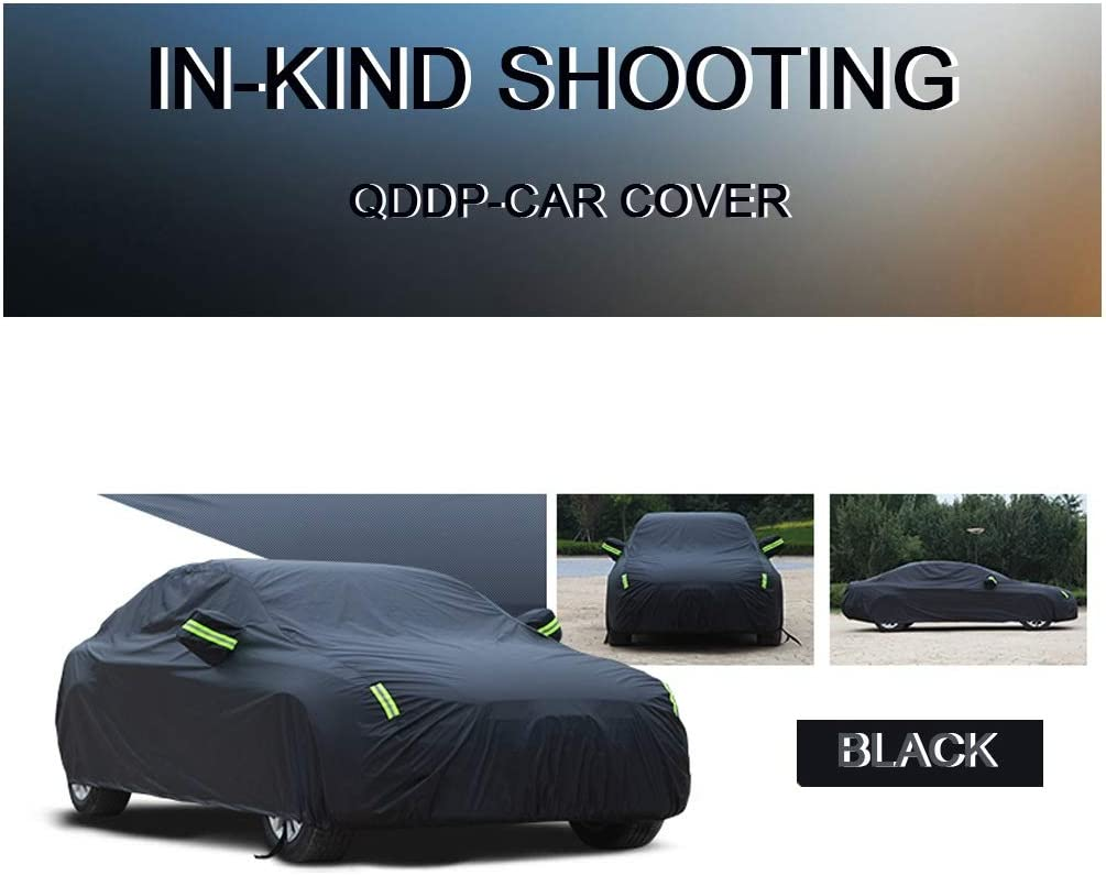 Car cover Compatible With Honda Civic TYPE R Car Cover Tarps To Cover The Sun And Rain Car Paint Protection Garage Car Door Protector Car Cover Waterproof All Weather Outer Cover Car Cover Dust Oxford