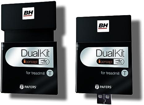 BH Fitness - Dual Kit T para Cintas de Correr Duales: Amazon.es ...