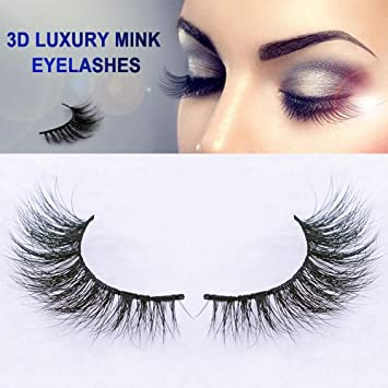 Beauty Essentials New 1 Pair Self-adhesive False Eyelashes Natural Long Makeup Real 3d Mink Lashes Extension Thick Mink False Eyelashes For Beauty To Assure Years Of Trouble-Free Service Beauty & Health