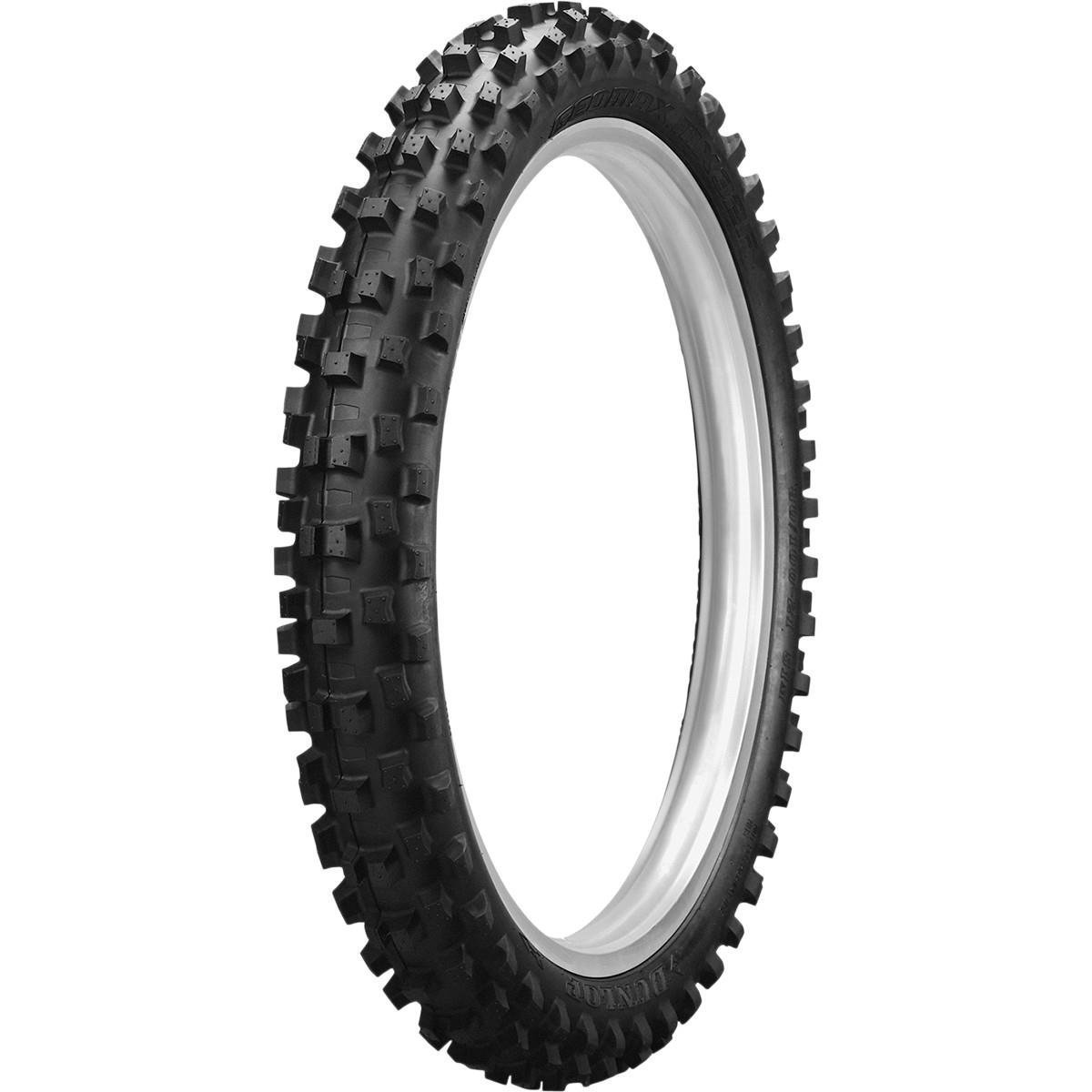 Dunlop Geomax MX32 Soft/Intermediate Front Tire - 60/100-14, Position: Front, Rim Size: 14, Tire Application: Soft, Tire Size: 60/100-14, Tire Type: Offroad, Load Rating: 30, Speed Rating: M 32MX64 by Dunlop Tires (Image #1)