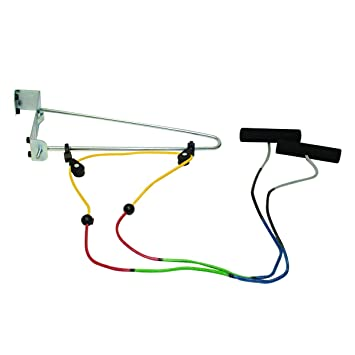 Over Door Exercise Pulley For Shoulder Exercises U0026 Mobility | Color Coded  Visualizer Rope To