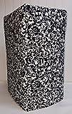 Black & White Floral Damask Large Blender Cover (Floral Damask)