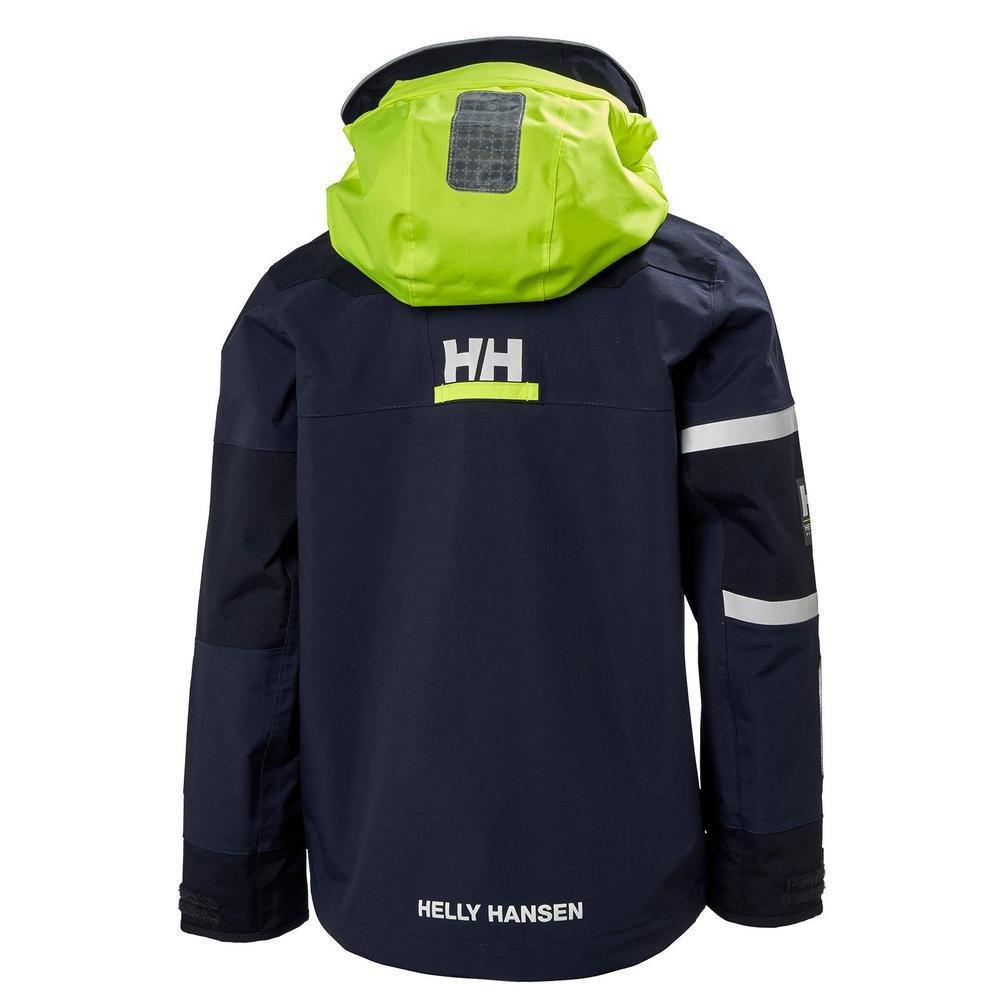 Helly Hansen Junior Salt Coast Jacket, Evening Blue, Size 16 by Helly Hansen (Image #2)