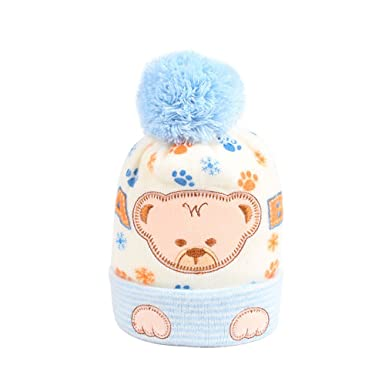Amazon Iridescentlife Bear Baby Hat Soft Knitted Newborn Beanie