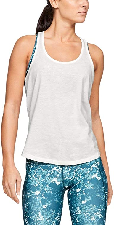 Under Armour Damen Tank Abstract Logo Graphic X-Back Tank