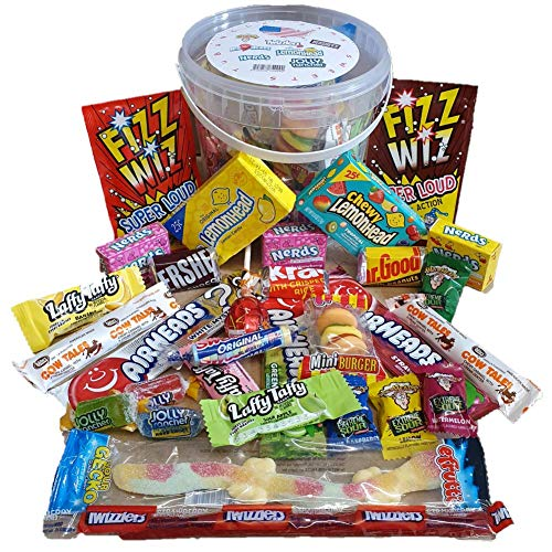 American Sweets  Box Hamper 30 Pieces American USA Candy Party Selection Sweet Box