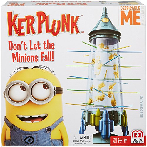 Mattel Games Kerplunk Despicable Me Minions Game ()
