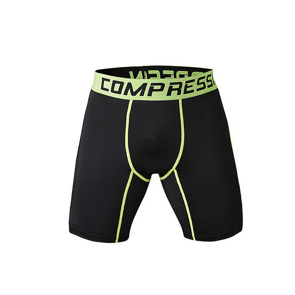 1Bests Men's Sports Fitness Camouflage Tight Underpants Running Compression Shorts