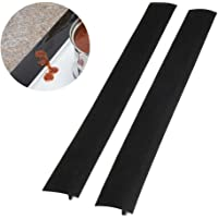 Stove Gap Filler, Aolvo 2 Pack Stove Counter Gap Cover-Stove Burner Covers-Long & Wide Gap Filler Seals Spills Between Counter, Stovetop, Oven, Washer & Dryer