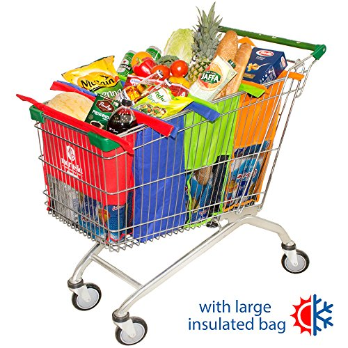 Reusable Grocery Cart Bags - 2