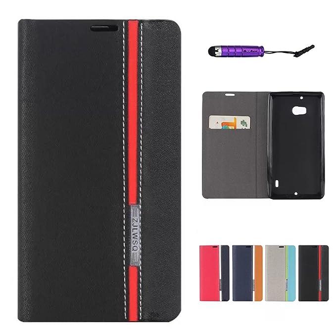 19 opinioni per Nokia Lumia 930 Custodia , CaseforYou® Personalità Stile Magnetico Pelle PU Flip