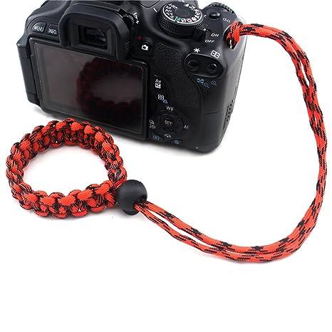 bqlove - Cuerda para cámara réflex DSLR SLR (Tejido a Mano, 1 ...