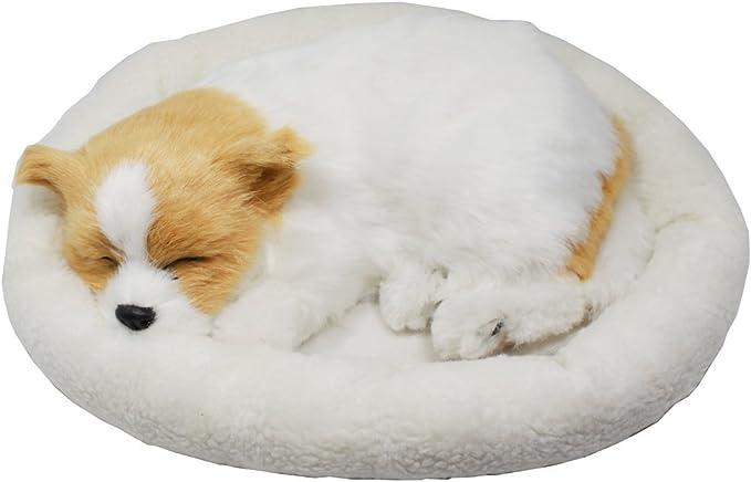 Perro Cachorro Que Respira Peluche De Juguete Con Cama 26cm Chihuahua Amazon Es Juguetes Y Juegos