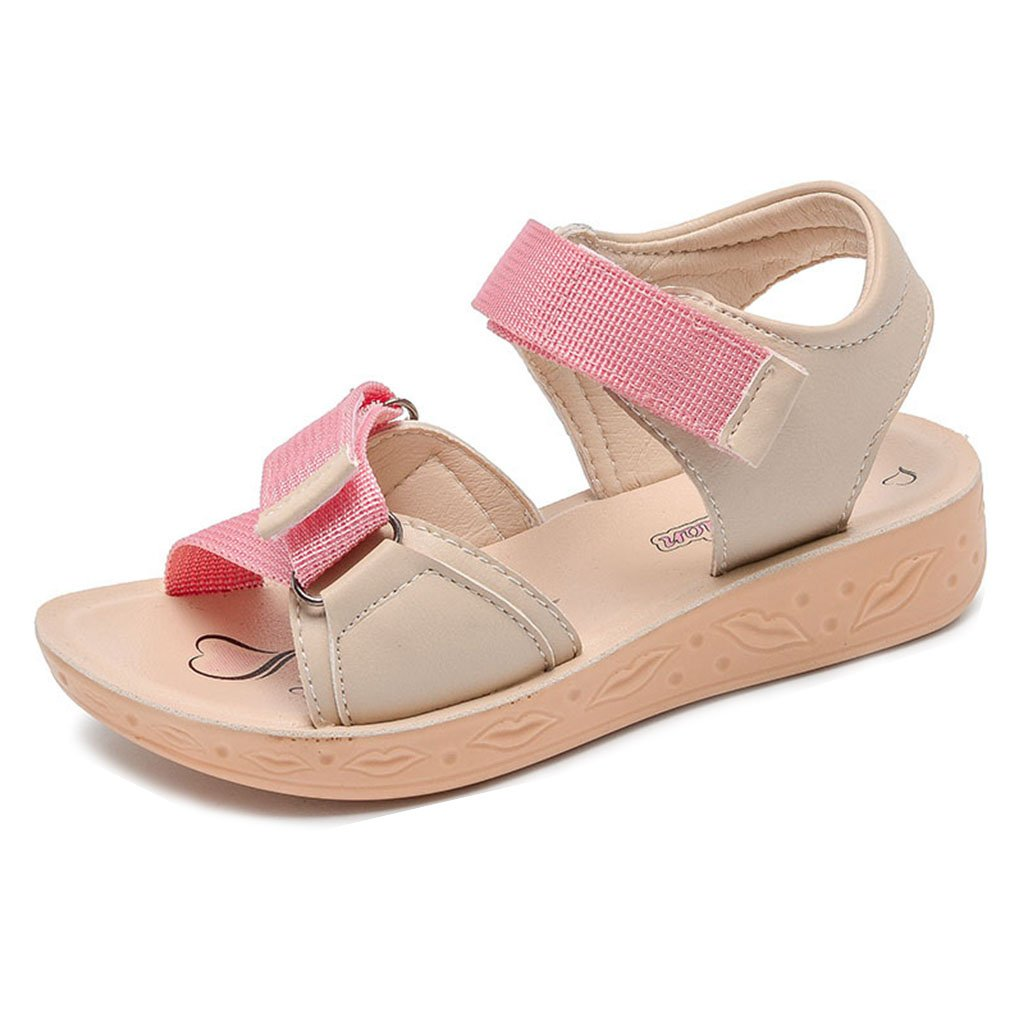 Boys Girls Summer Open-Toe Sandals Beach Comfortable Athletic Outdoor Water Sport Flats Shoes