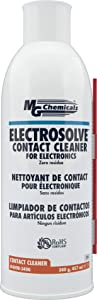 MG Chemicals 409B Electrosolve Zero Residue Electronic Contact Cleaner, 340g (12 oz) Aerosol Can